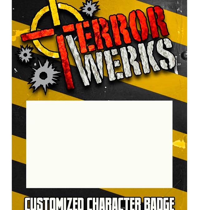 TerrorWerks Customizable Character Card Backer Board