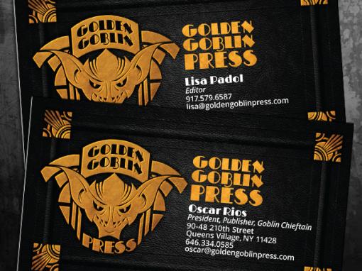 Golden Goblin Press Business Cards