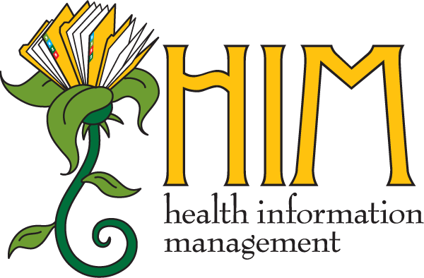 Health Information Management Flower Design Mark