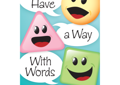 """We Have a Way With Words"" Speech-Language Pathology Magnet"