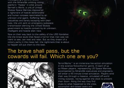 TerrorWerks 2008 Promo Ad