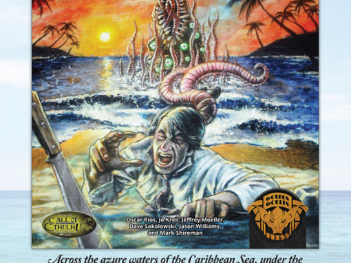 """""""Tales of the Caribbean"""" Print Ad"""