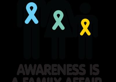 """""""Awareness is a Family Affair"""" Design"""