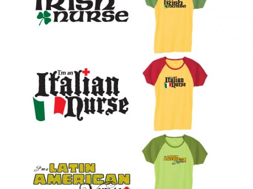Nurse Cultural Heritage Designs