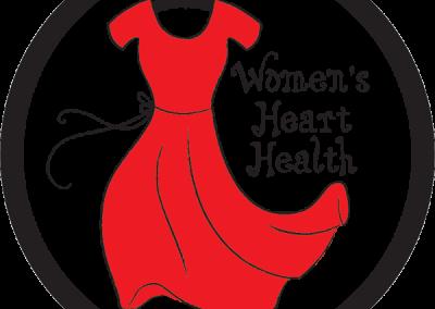 """Women's Heart Health"" Car Magnet Design"
