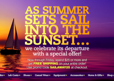 Summer Sunset Promotion
