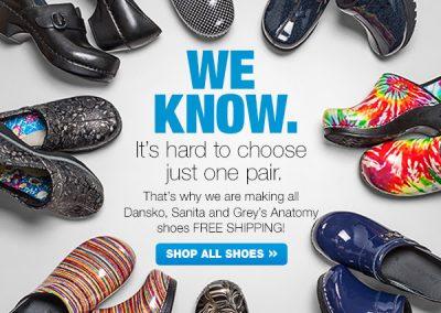 Shoe Promotion