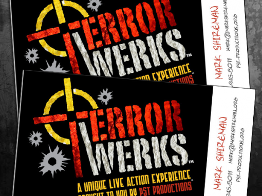 TerrorWerks Business Cards