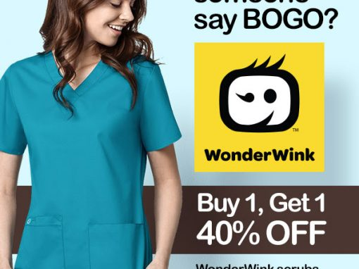 WonderWink BOGO Promotion